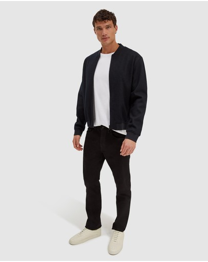 SABA - Karl wool bomber jacket