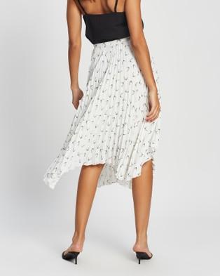 Marcs Seas The Day Skirt - Pleated skirts (IVORY)