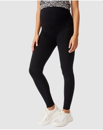 Cotton On Body Active - Maternity Core Over Belly Tights