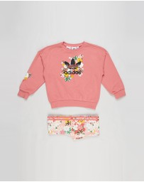 adidas Originals - HER Studio London Floral Crew Set - Kids