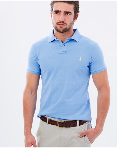 Polo Ralph Lauren - Custom-Fit Mesh Polo Shirt