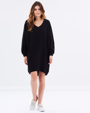 Maison Scotch – Home Alone Oversized Sweat Dress – Dresses (Colour 90)