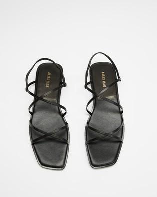Alias Mae Tulin - Sandals (Black Kid Leather)