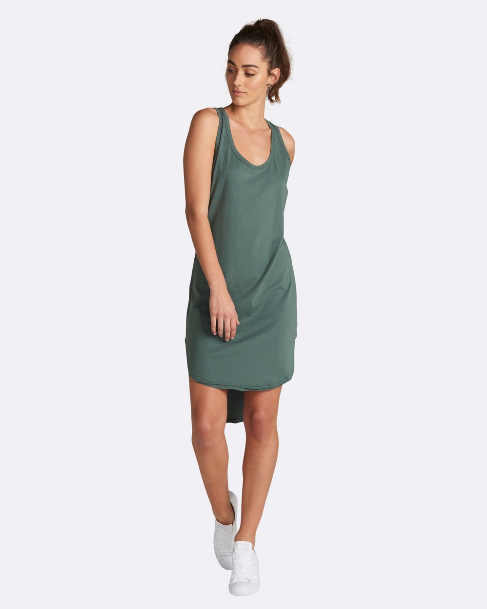jac + mooki Polly Dress Dresses Green Polly Dress