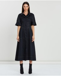 CAMILLA AND MARC - Rubin Contrast Stitch Dress