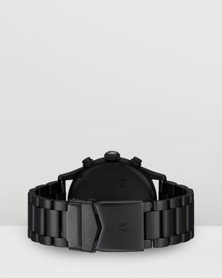 Nixon Sentry Chrono - Watches (All Matte Black & Polished Black)