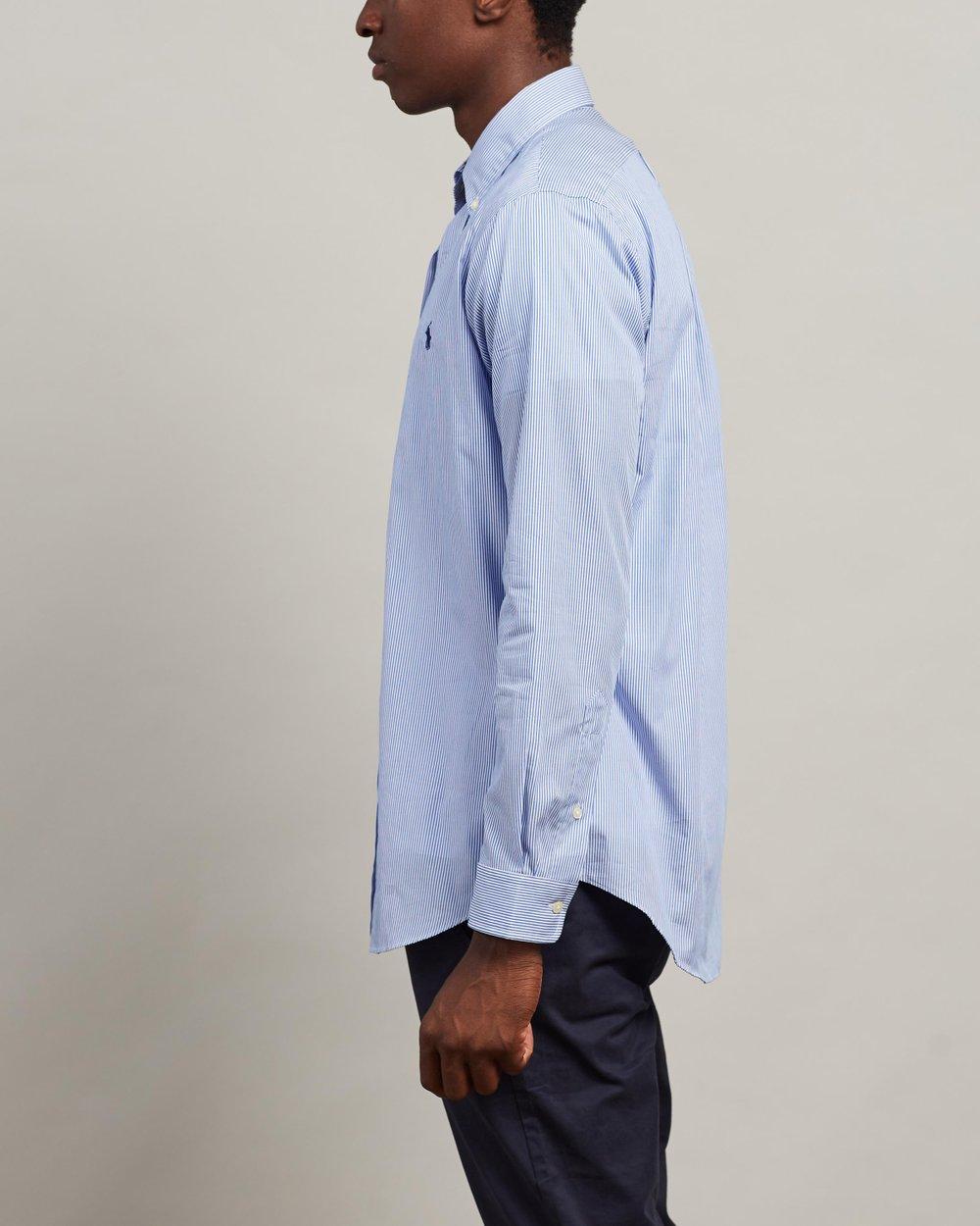ad29bc42d4ad Striped Cotton Poplin Shirt by Polo Ralph Lauren Online