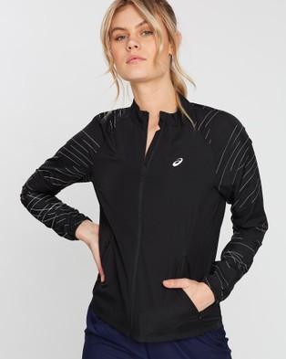 ASICS Night Track Jacket   Women's - Coats & Jackets (Night Track Black)