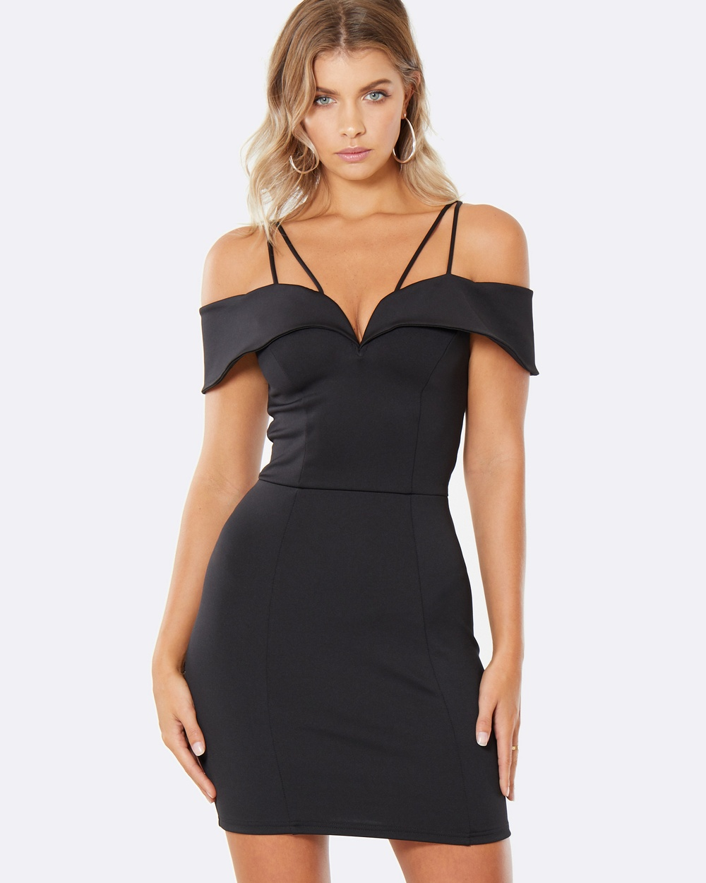 Calli Zoey Ada Mini Dress Bodycon Dresses Black Zoey Ada Mini Dress
