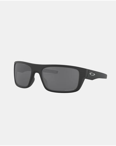 Oakley Drop Point Polarised Oo9367 Black & Prizm Polarized