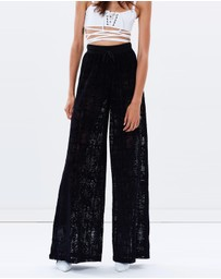 Fenty Puma - Sheer Custom Wide Leg Pants