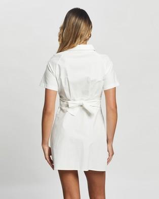 Atmos&Here Bria Mini Dress - Dresses (White)