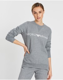Emporio Armani - Knitted Logo Jumper