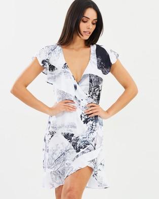 Fresh Soul – Day Dreamer Wrap Dress Day Dreamer Print