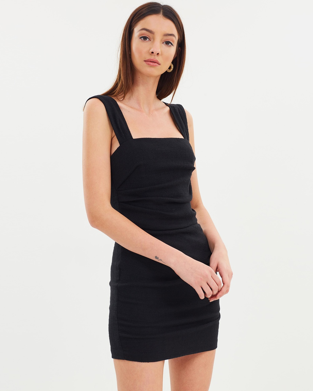 Bec & Bridge Catalina Ave Mini Dress Bodycon Dresses Black Catalina Ave Mini Dress