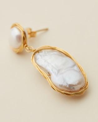 Amber Sceats Sammy Earrings - Jewellery (Gold)