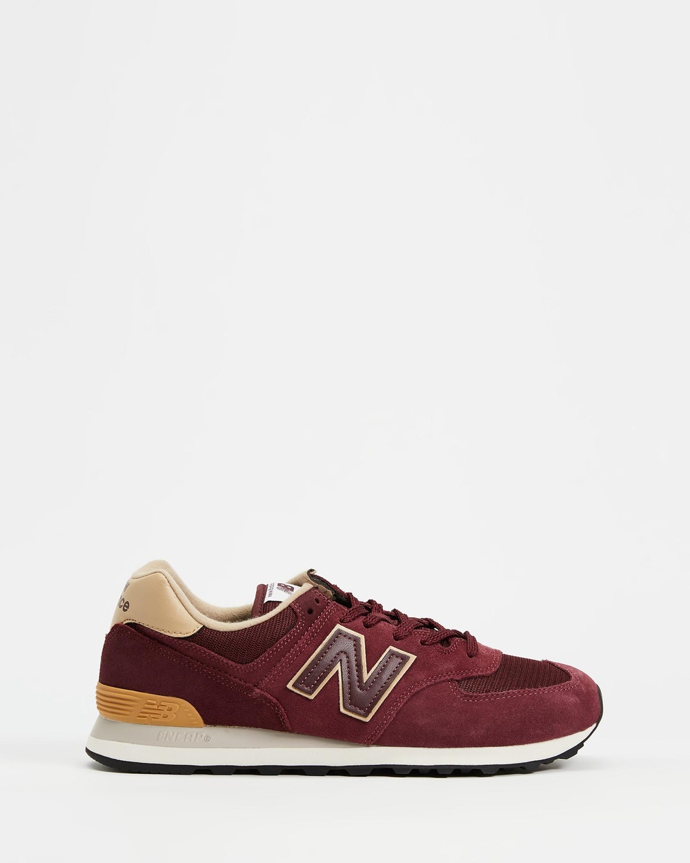 New Balance 574 Standard Fit Men's Lifestyle Sneakers Burgundy