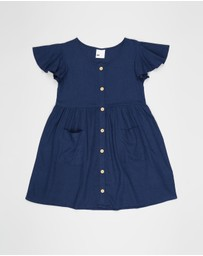 Cotton On Kids - Vanessa Short Sleeve Dress - Kids