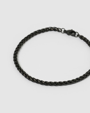 AOE MAN Jeep Men's Bracelet - Jewellery (Black)