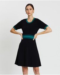Marcs - Scallop Trim Knit Dress