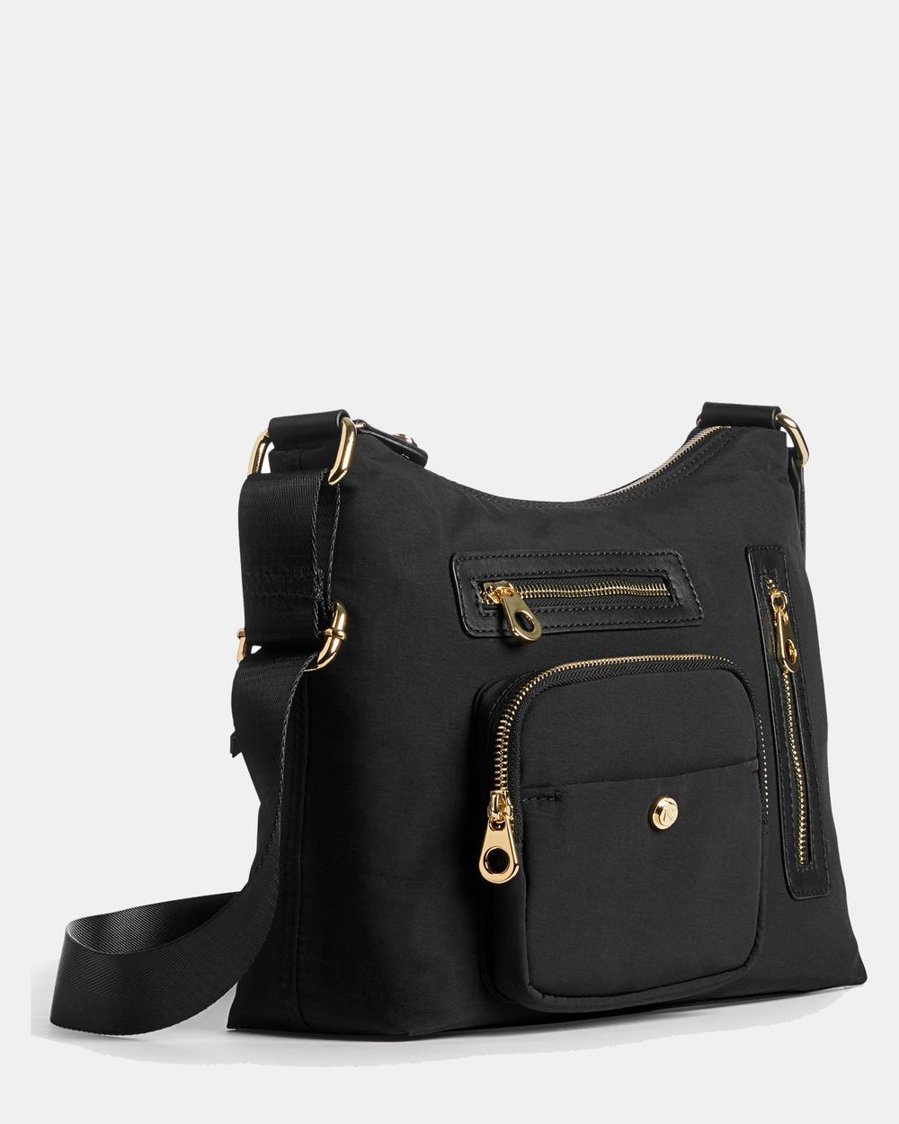 Naturalizer Safari Crossbody Bag Bags Black