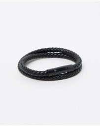 Kavalri - Barrel Double Wrap Leather Bracelet