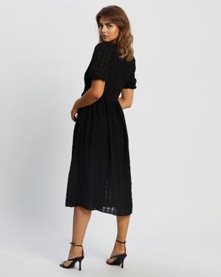 Y.A.S Melba 2 4 Midi Dress - Dresses (Black)