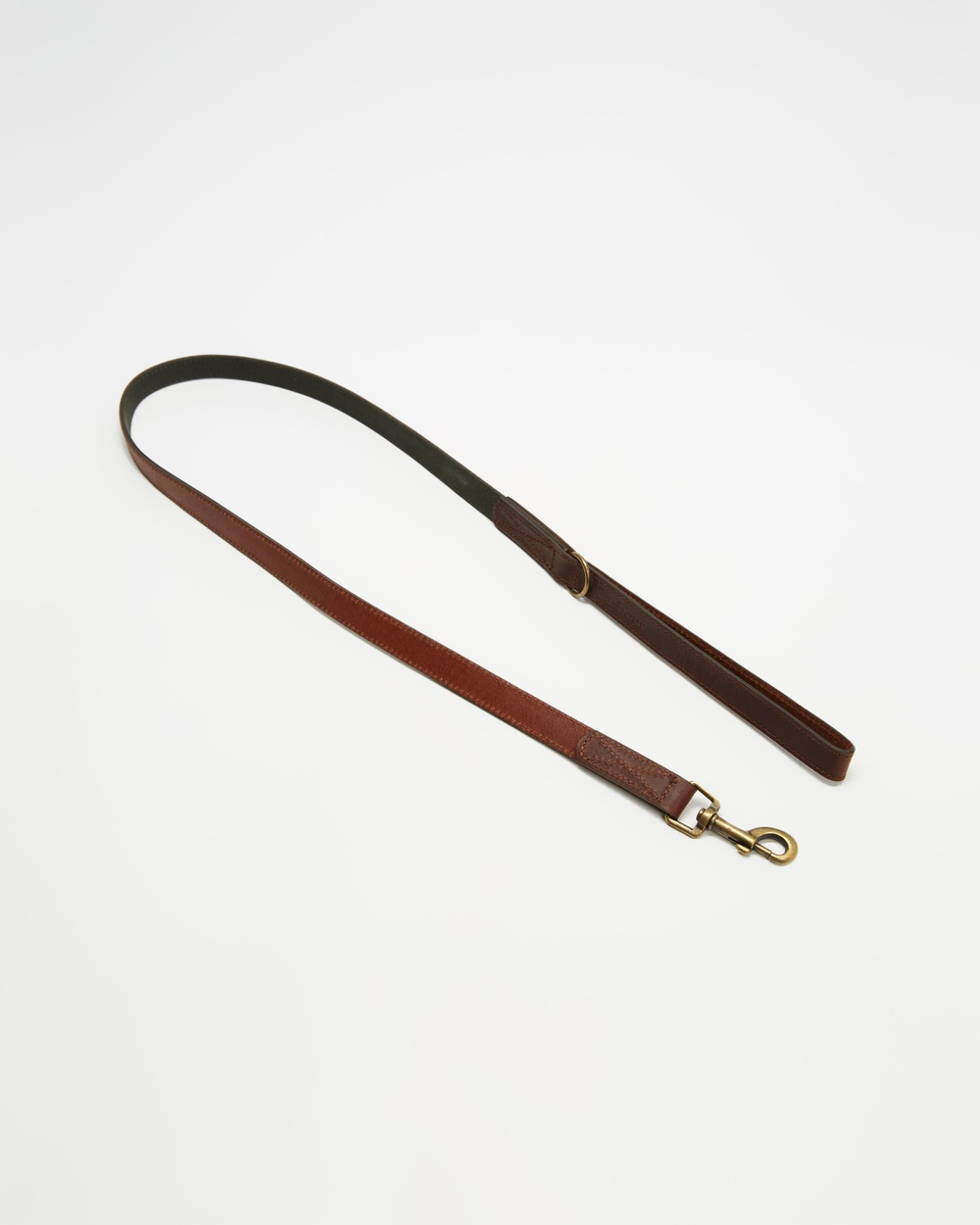 Barbour Wax Leather Dog Lead Pets Olive Wax Leather Dog Lead