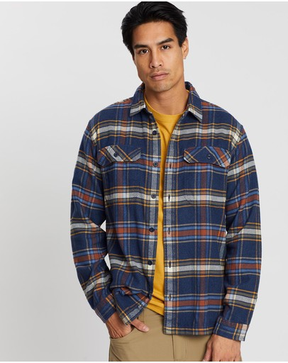 Patagonia - Long Sleeve Fjord Flannel Shirt - Men's