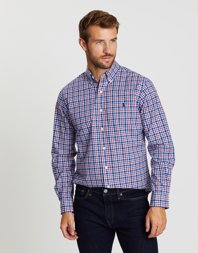 Polo Ralph Lauren - Stretch Poplin Custom Fit Shirt