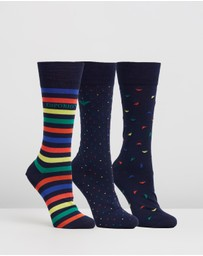 Emporio Armani - Multi All-Over Eagle Sock Gift Pack