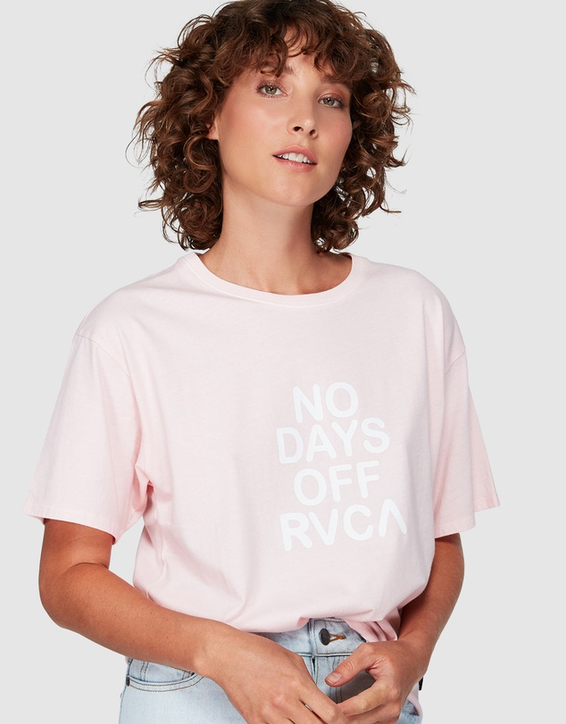 RVCA - No Days Off Tee