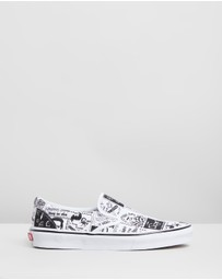 Vans - Vans X Ashley Williams - Slip On - Women's