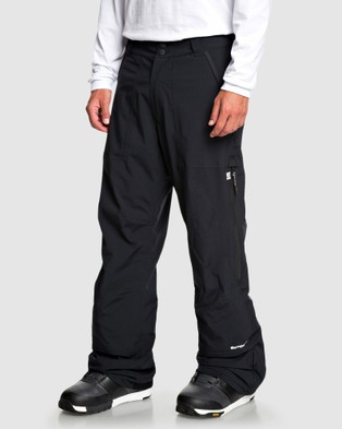DC Shoes Mens Nomad Packable Snow Pant - Shorts (Black)