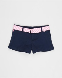 Polo Ralph Lauren - Lightweight Solid Chino Shorts - Kids