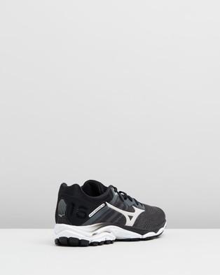 Mizuno Wave Inspire 16   Women's - Performance Shoes (Dark Shadow & Nimbus Cloud)
