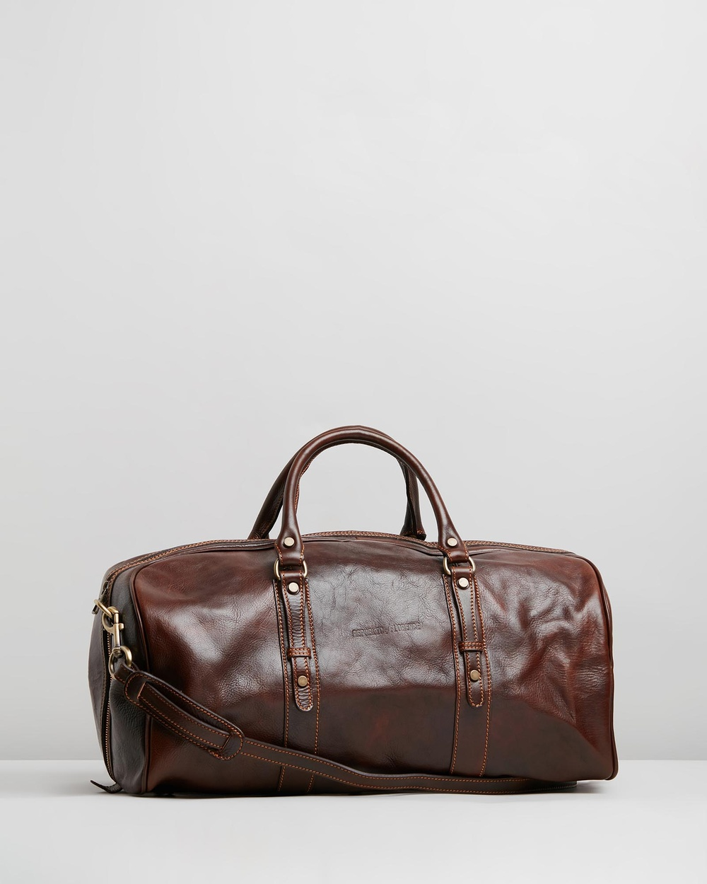 Republic of Florence Polo Duffle Bags Chocolate