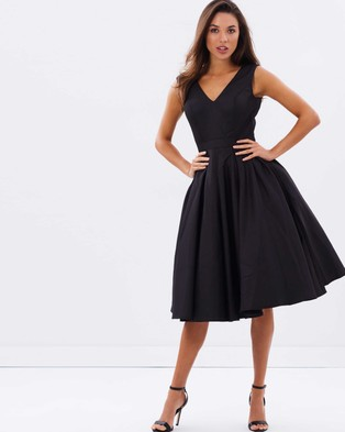 Chi Chi London – Taya Dress – Dresses (Black)
