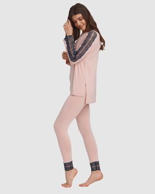 Oh!Zuza Lace Trim Pyjama Set - Two-piece sets (Pink)