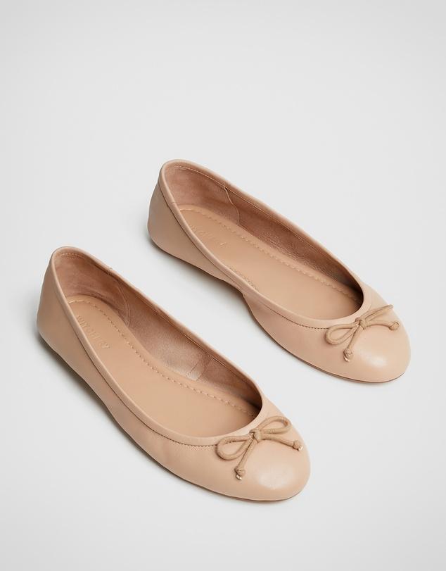 Women Sal Soft Leather Ballet