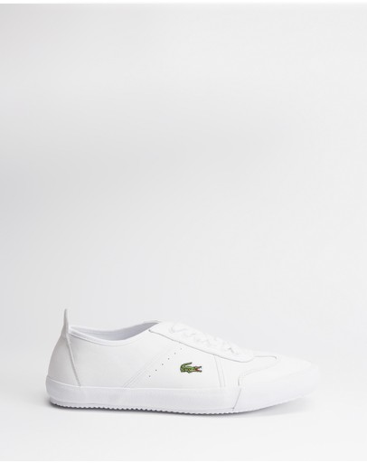 Lacoste - Contest Leather Sneakers - Men's