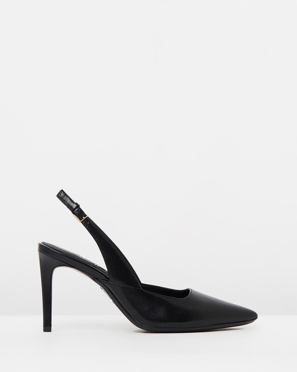 Calvin Klein Rielle All Pumps Black Leather Rielle
