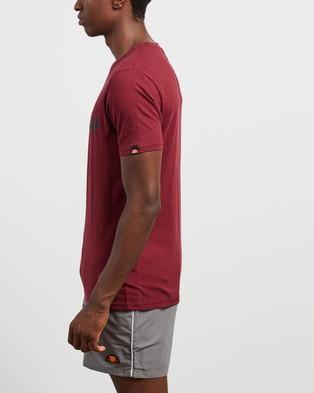 Ellesse Prado T Shirt - Shirts & Polos (Burgundy)
