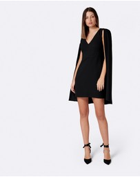 Forever New - Dionne Crepe Cape Dress