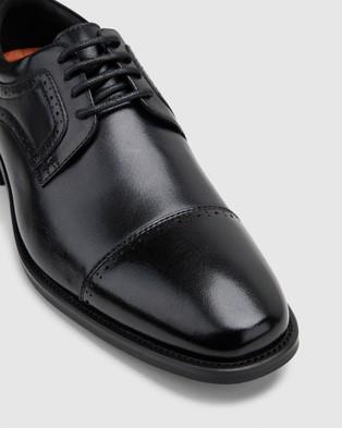 Hush Puppies William - Dress Shoes (Black)