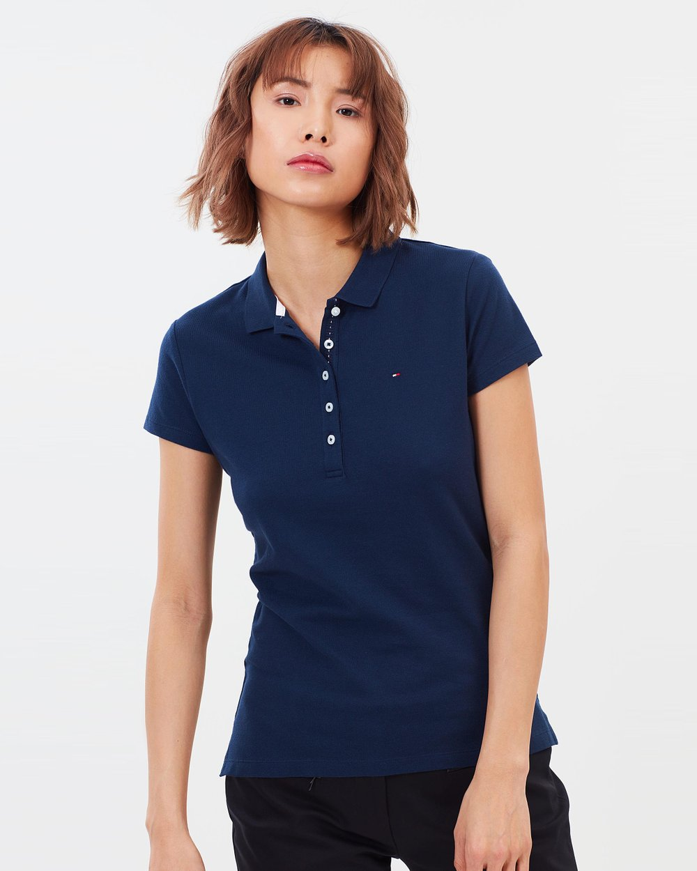 bec60426 Chiara SS Polo by Tommy Hilfiger Online | THE ICONIC | Australia