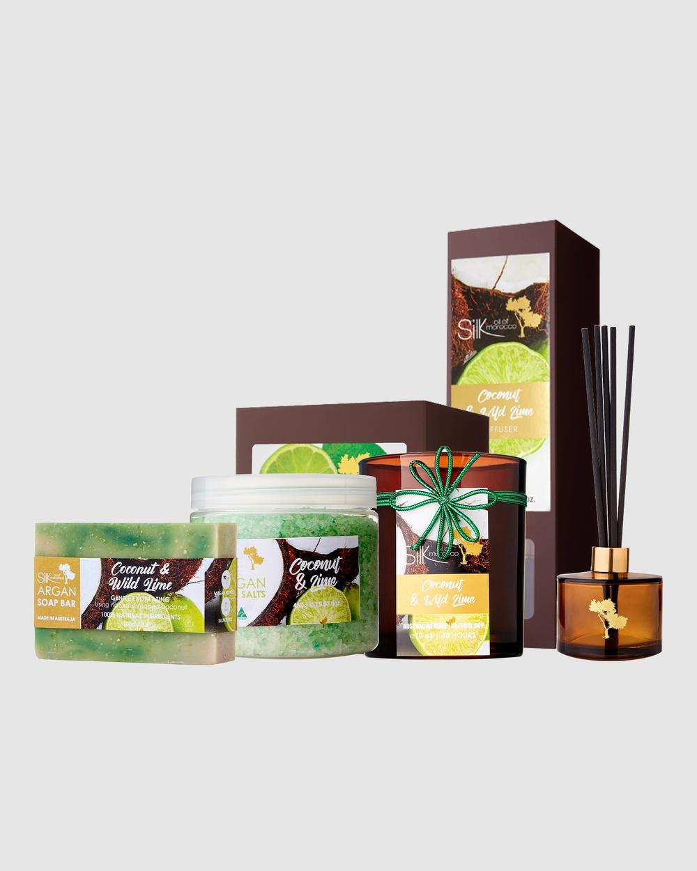 Silk Oil of Morocco Scent Selection Coconut & Lime Home Coconut Lime Selection-