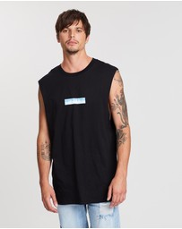 Dead Studios - Tropical Box Logo Muscle Tank