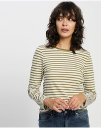 David Lawrence - Michela Stripe Long Sleeve Tee