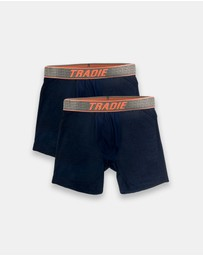 TRADIE - Tradie 2pk Cool Tech Mid Length Sports Trunk